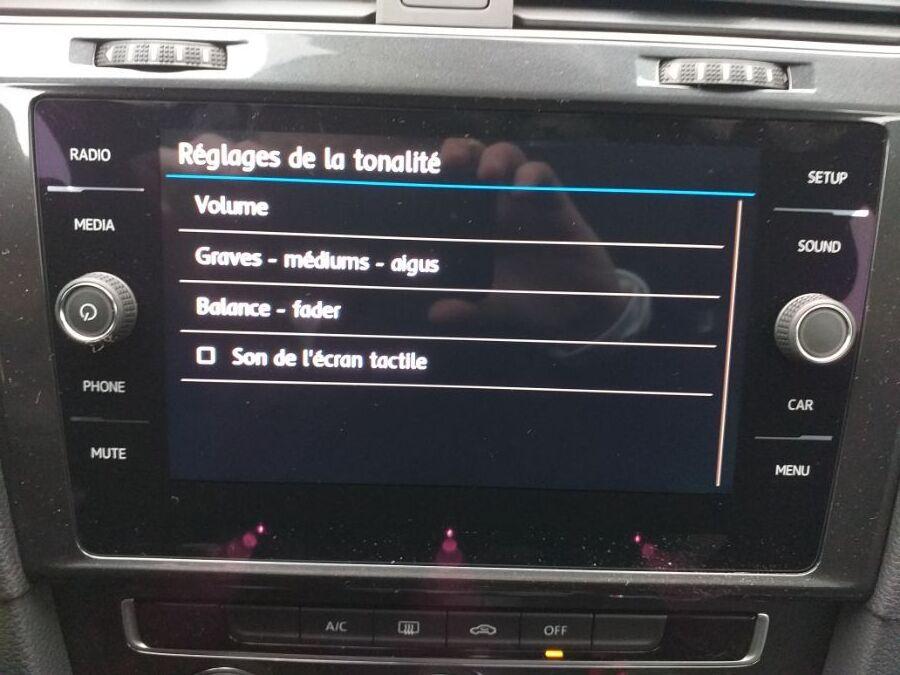 annonce VOLKSWAGEN GOLF 1.0 TSI 115 TRENDLINE neuf Brest Bretagne