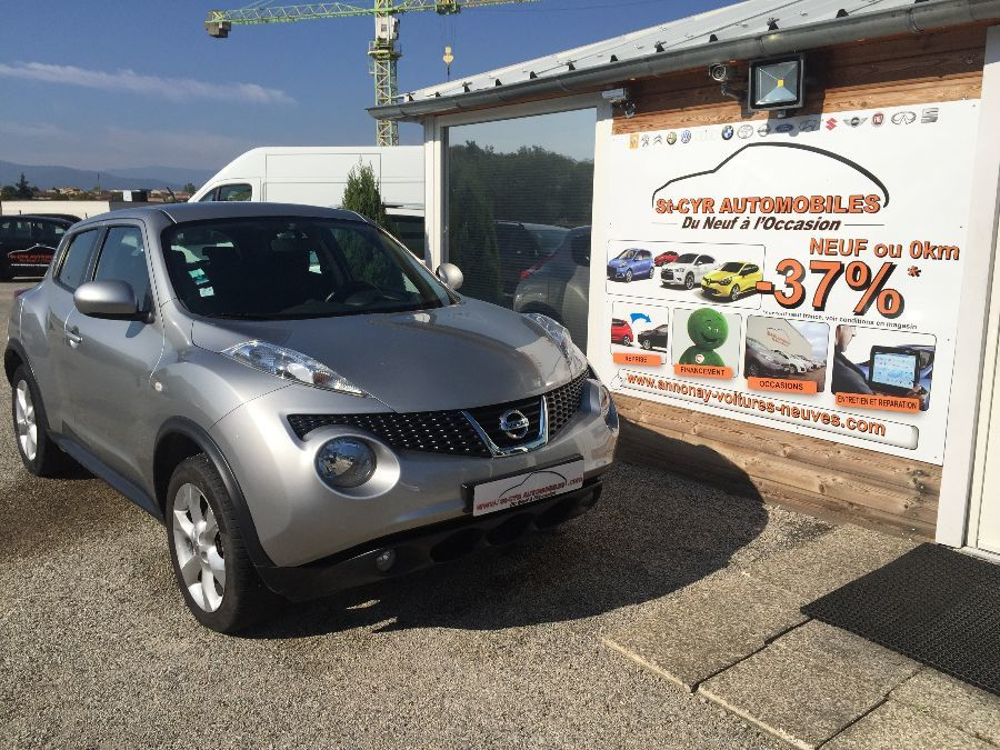 voiture nissan juke 1 5 dci 110 acenta occasion diesel 2011 60852 km 10990 saint cyr. Black Bedroom Furniture Sets. Home Design Ideas